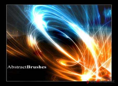 Fiery Lines Abstract Photoshop Brushset 2