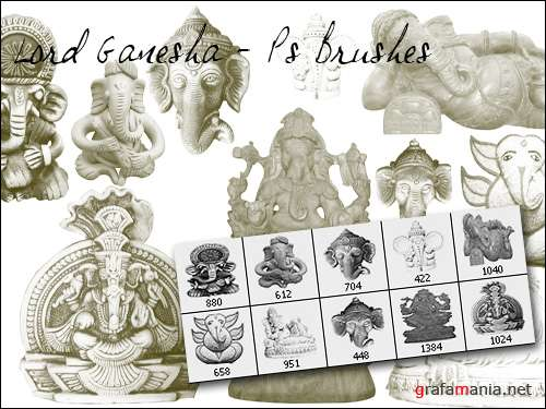 Lord Ganesha PS Brushes