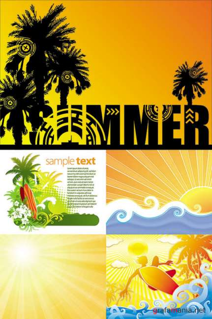Stock Vectors - SUMMER