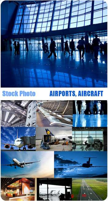 Stock Photos - Airports, aircraft