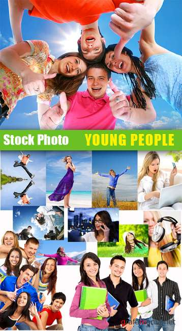 Stock Photos - Young People