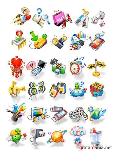 30 Vector Icons