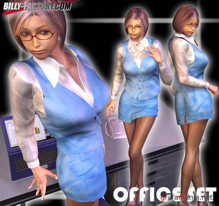 OfficeSet for Victoria 4 & Aiko 4