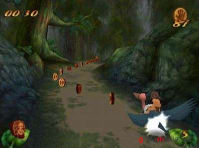 Disney's Tarzan Action Game (2006/Rus)