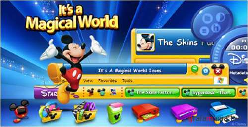 Оформление для Windows -  Disney's Magical World