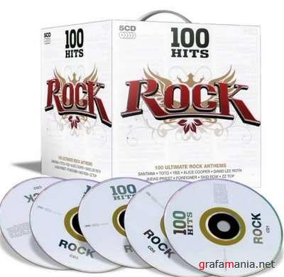 100 Hits - Rock (5 CD)