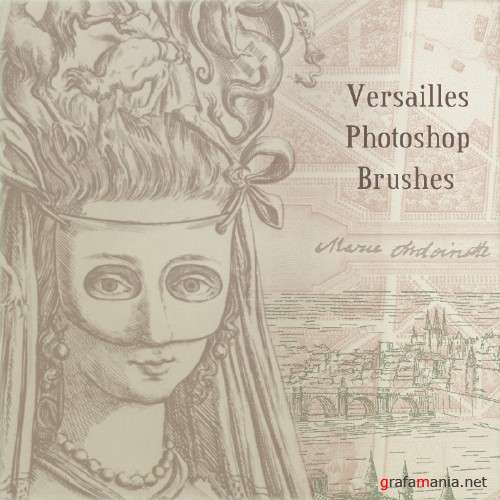 Versailles Photoshop Brushes