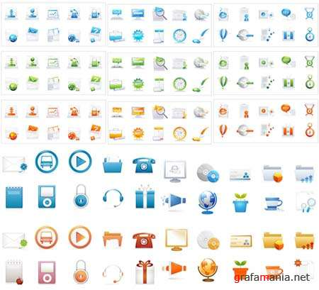 Vector Design Elements and Icons 2