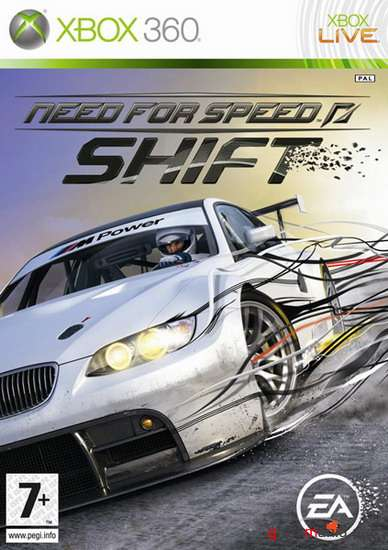 Need For Speed: SHIFT (2009/ENG/XBOX360/NTSC)
