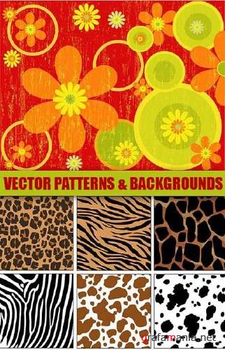 Vector Patterns and Backgounds