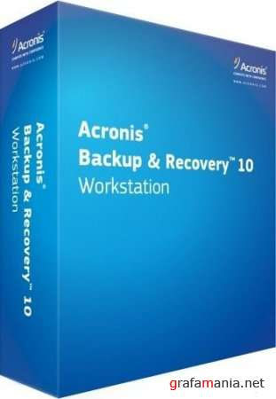Acronis Backup and Recovery 10.0 Build 11105 Workstation