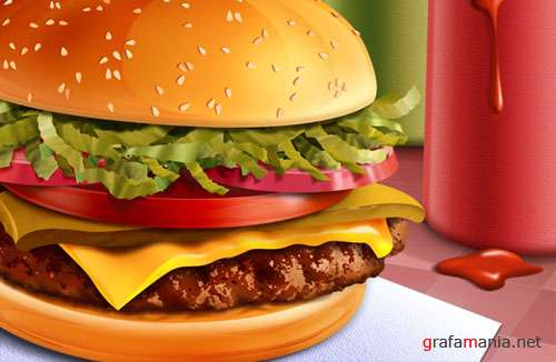 Gamburger PSD