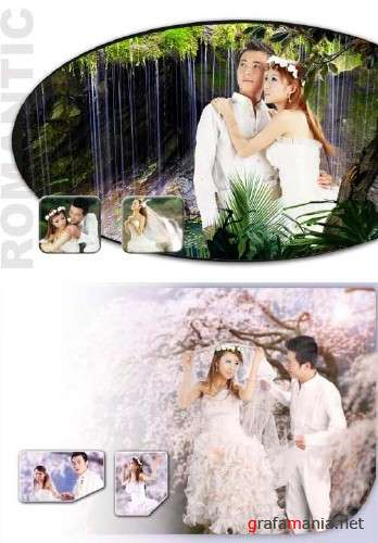 "China Collections Psd Template ""Romantic"""