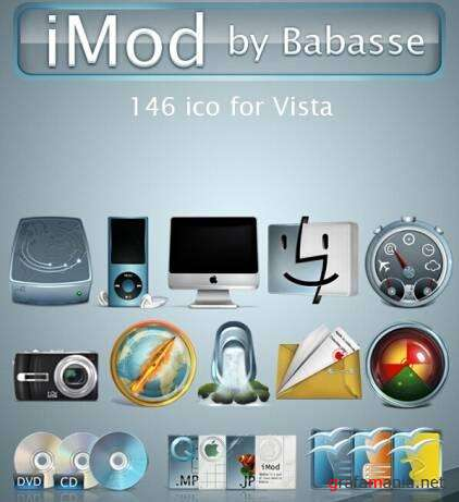 Icons Pack iMod for Vista