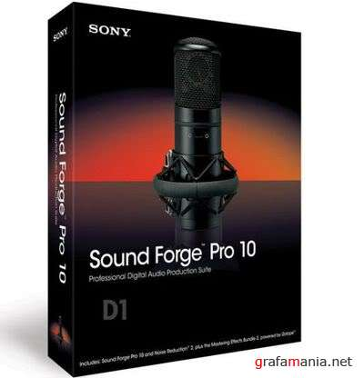 Sound forge PRO 10.ISO-RiSE + Плагины