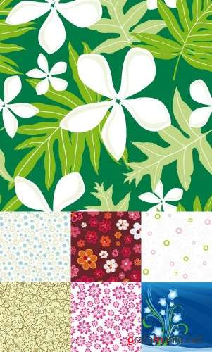 Floral Background �7