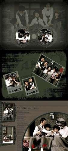 Family - Psd Template