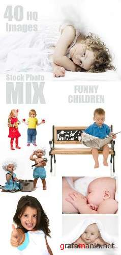 Funny Children 3 - HQ Stock Photos