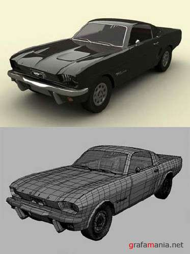 Ford Mustang 1966 - 3D Model