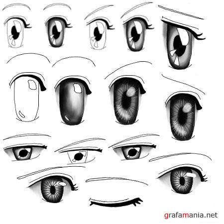 Funny Eeeeyes Photoshop Brushes