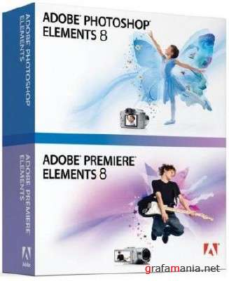 Adobe Photoshop Elements & Premiere Elements 8 *ISO*