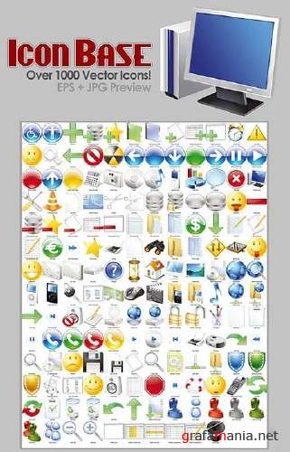 Vector Icons Huge Collection