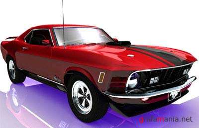 Ford Mustang 1970 - 3D Model