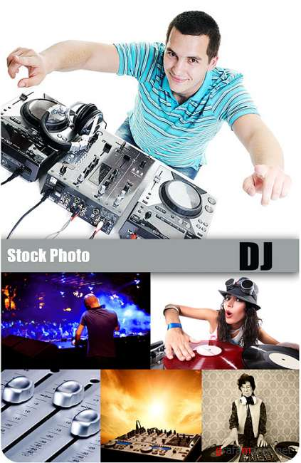 Stock Photo - DJ