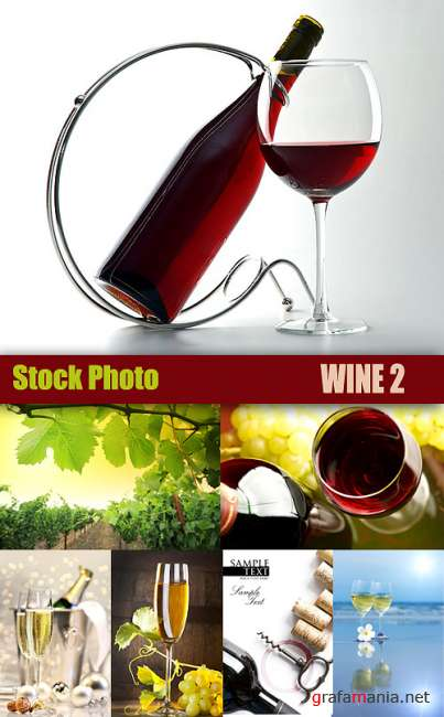 Stock Photo - Wine