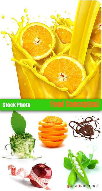 Stock Photo - Conceptual Food