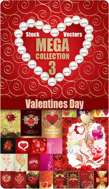 Valentine's Day Vectors MEGACOLLECTION