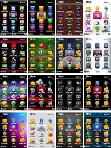 Nokia S60 Symbian 9.� Themes Pack #21