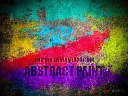 Abstract Paint Photoshop Brushes