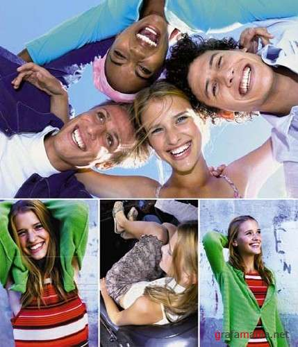 Funky Urban Teens - HQ Stock Photos