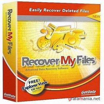 GetData Recover My Files Professional v4.0.2.441