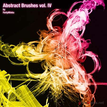 Abstract Photoshop Brushes by forty-winks vol. 4