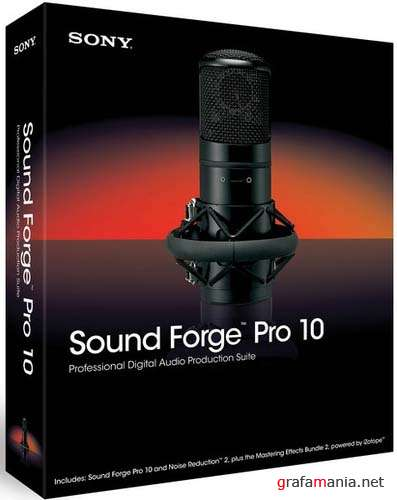 Sony Sound Forge Pro 10.0.368 + Content + Sony Sound Forge Pro 10.0a Build 425