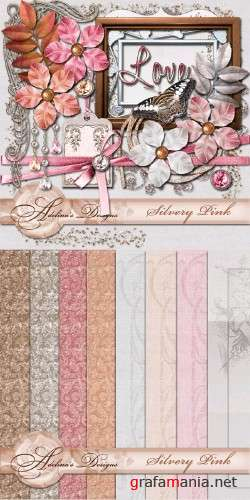 Adelina Design - Silvery Pink