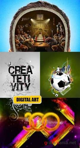 Digital Art Creative Collection