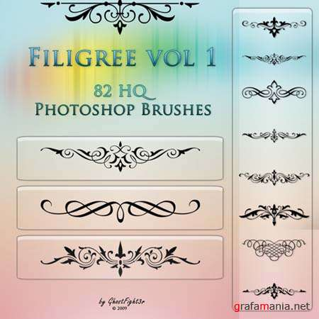 Filigree vol1 - HQ brushes