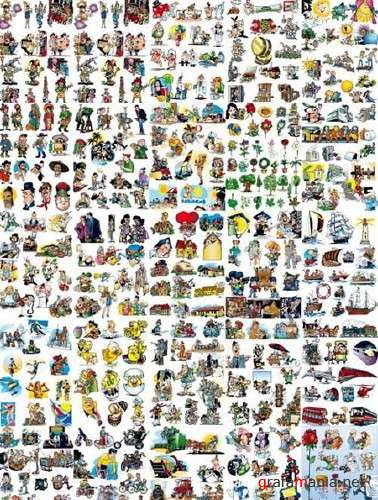 Huge Vector Clipart Collection