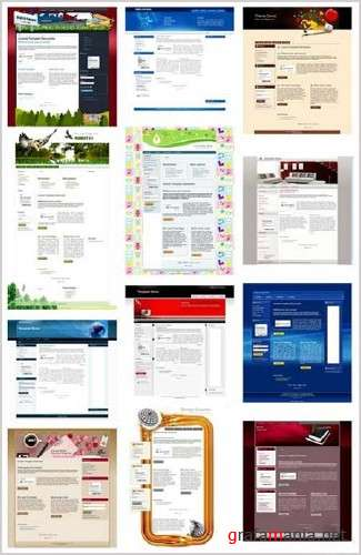 Free Templates for CMS Joomla 1.5 (Pack 3)