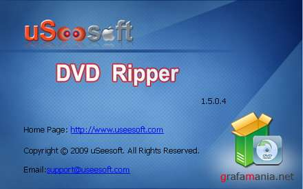 uSeesoft DVD Ripper 1.5.0.4