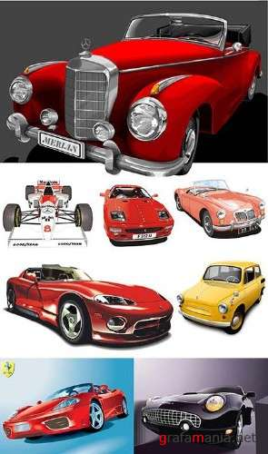 Cars Super Vector Collection