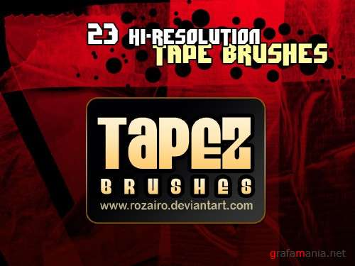Tapez brushes
