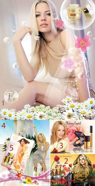 PSD templates - Cosmetics 11