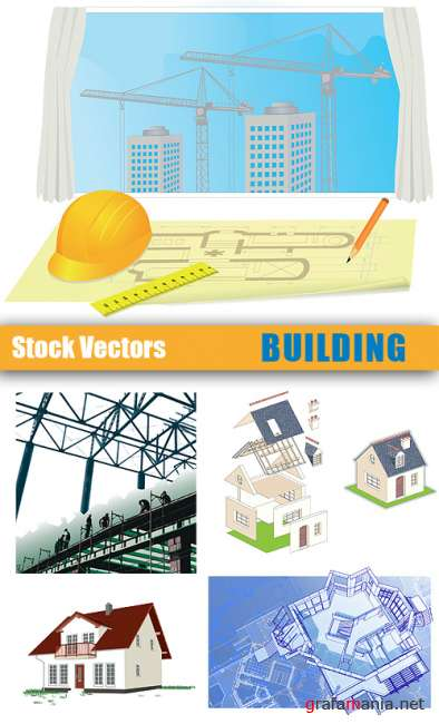 Stock Vectors - Building