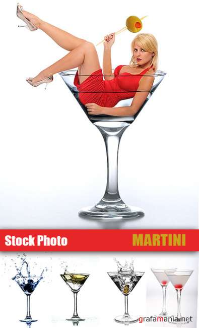 Stock Photo - Martini