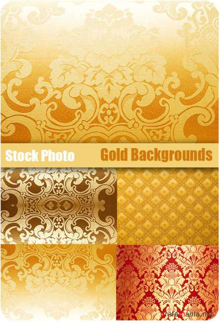 Stock Photo - Gold Backgrounds
