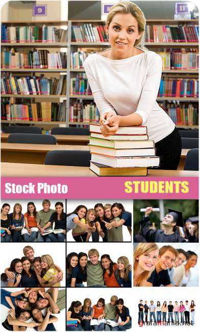 Stock Photo - Students
